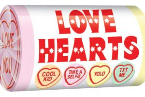 Love Hearts Mini Rolls 2