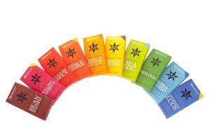 Montezuma's rainbow 100g bars