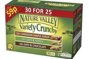 NV_30Ct crunchy mixed case Carton 3D
