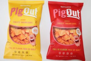 Outstanding Foods debuts its plant-based Bacon Chips
