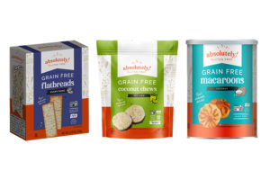 Absolutely Gluten-Free updates packaging to accompany new snack varieties