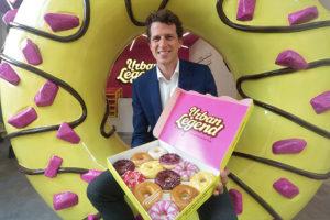 Former graze CEO launches Urban Legend doughnut brand