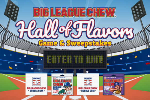 "Big League Chew and National Baseball Hall of Fame open virtual ""Hall of Flavors"" game"