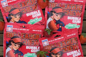 Big League Chew announces Slammin' Strawberry bubble gum flavour