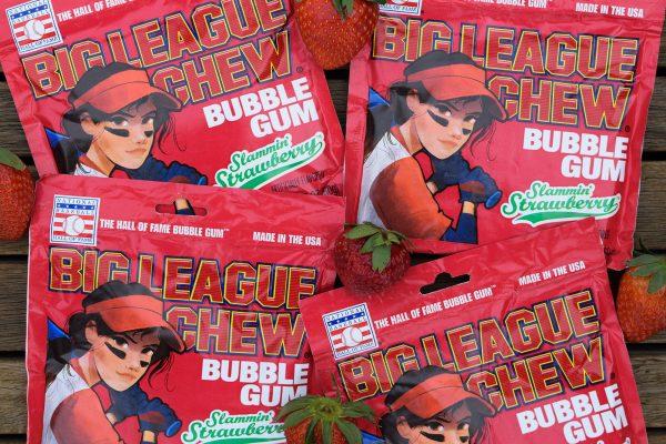 Big League Chew announces Slammin' Strawberry bubble gum flavour
