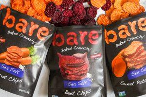 Bare Snacks unveils new Baked Crunchy Veggie Chips