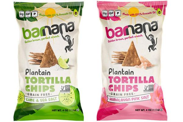 Barnana launches new plantain tortilla chips