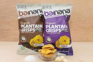 Barnana brings new savoury Organic Plantain Chips to market