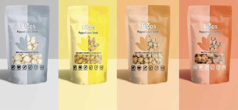 Blops introduces new vegan gourmet snack range