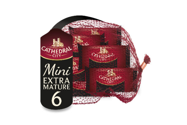 Cathedral City extends snacking range with Mini Extra Mature