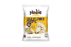 Nudie Snacks releases new crisps made from 'wonky veg'