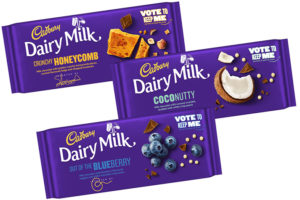 Cadbury releases three new Dairy Milk flavours as part of competition