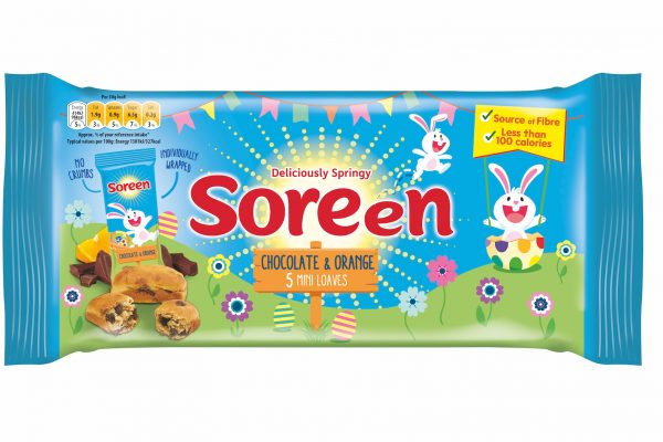 Soreen introduces Easter mini loaves