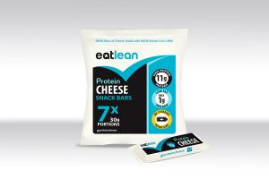 Eatlean launches Protein Cheese Snack Bars