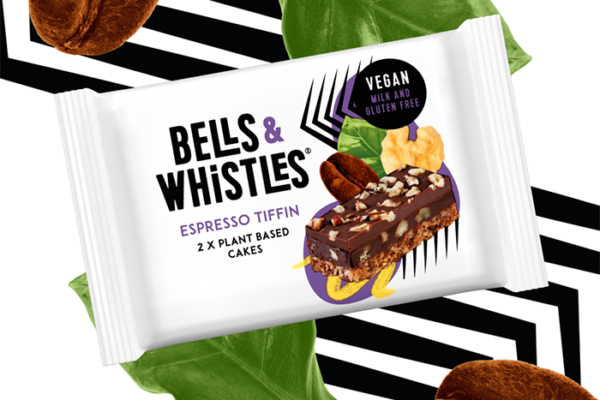 Bells & Whistles launches Espresso Tiffin cakes in Sainsbury's