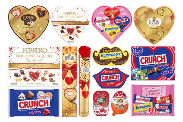 Ferrero USA announces Valentine's Day product lineup