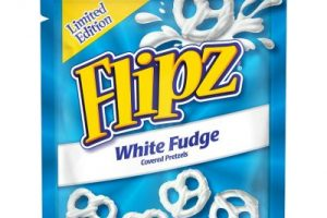 pladis release limited edition white fudge Flipz variety
