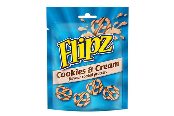 Flipz adds Cookies & Cream flavour