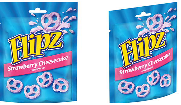 pladis launches new Flipz Strawberry Cheesecake flavour