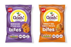 Gosh! Food introduces new plant-based Snack Bites
