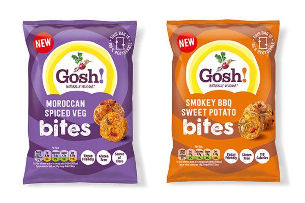 Gosh! Food introduces new plant-based Snack Bites