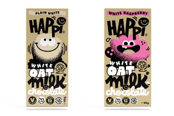 Happi launches new white chocolate range