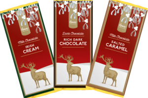 Hames Chocolates launches British chocolate Christmas stag range