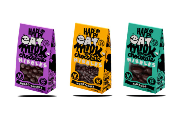 New Oat Milk Chocolate snack launch from Happi