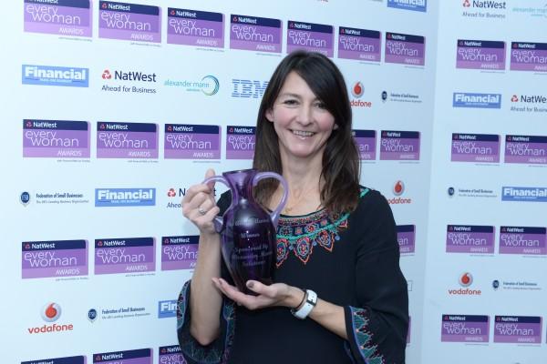 Company founder wins award