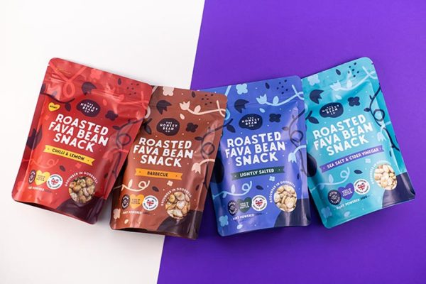 The Honest Bean Co launches with British-grown fava bean snacks and dips