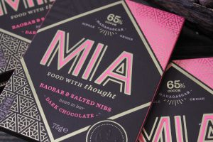 MIA releases Baobab and salted nibs dark chocolate