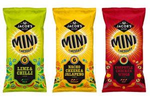 Pladis launches new Jacob's Mini Cheddars Mexican range