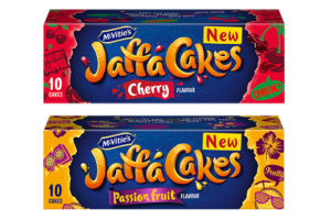 Jaffa cakes debuts Cherry and Passion Fruit flavours
