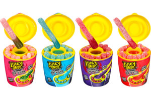 Bazooka Candy Brands introduces Juicy Drop Gummy Dip 'N Stix