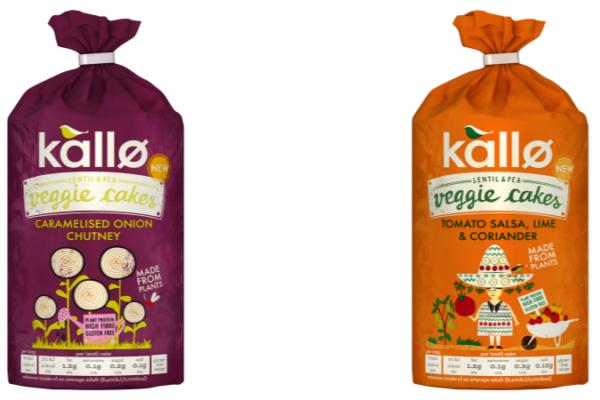 Kallø extends Veggie Cakes range with new flavours