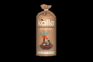 Kallø adds Cocoa, Date & Vanilla rice & corn cakes to snack portfolio
