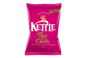 Kettle Chips' Thai Sweet Chilli becomes firm favourite