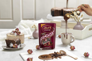 Lindt introduces Lindor Double Chocolate