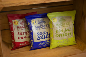 Mackie's Crisps launches new £1 price-marked pack sharing range