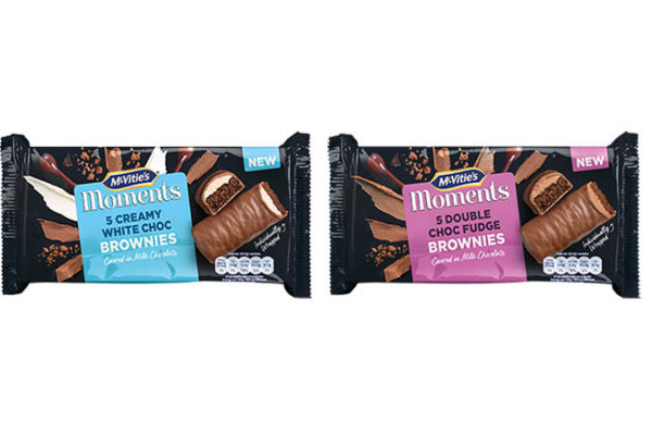pladis launches McVitie's Moments Brownies