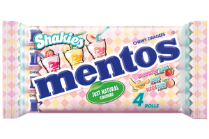 Mentos Shakies in multipack launch