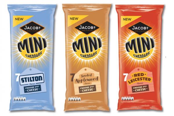 Jacob's expands Mini Cheddars range