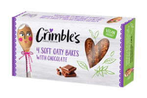 Mrs Crimble's innovates with new vegan-friendly Oaty Bakes with Chocolate