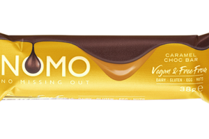 NOMO introduces free-from Caramel Choc Bar