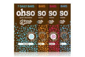 Ohso announces launch of probiotic chocolate bars into Ocado