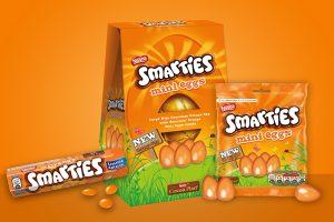 Nestlé announces limited-edition Orange Smarties products