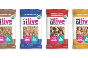 Probar launches new live nutrition bars