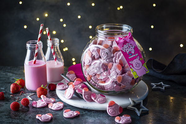 M&S introduces Percy Pig sweetie jar packaged by Croxsons