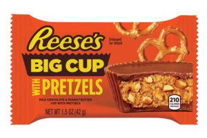 Hershey announces new Reese's Big Cups with Pretzels