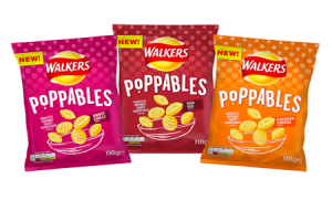 Walkers' Poppables launch in the UK